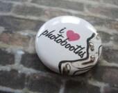 I Love Photobooths Button