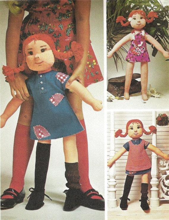 Pippi Longstocking Doll Pattern