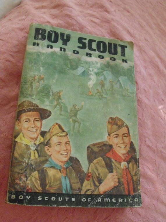 Vintage 7th Edition Boy Scout Handbook
