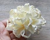 Fabric Flower Tutorial, Hair Bow Tutorial, Ribbon Flower Tutorial, PDF Pattern & Tutorial, Fabric Flower Pattern, Hair Bow Supplies