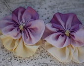 Fabric Flower Tutorial Pattern - Pansy - With Baby Headband and Accessories Tutorials