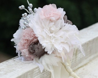 Wedding Bouquet Tutorial - Wedding Bouquet - Feather Flower Tutorial