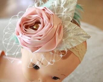 Baby Headband Pattern, Baby Headband, Headband Tutorial, Fabric Flower Pattern - Ranunculus