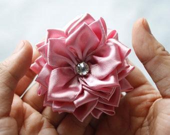 Ribbon Flower Pattern - Ribbon Flower - Fabric Flower Tutorial - PDF Pattern & Tutorial - Sweet Blossom
