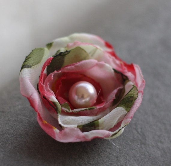 Make Your Own Fabric Flowers, Fabric Flower Tutorial, Fluffy Cabbage Rose, Jewelry Tutorial, diy Headband, Bridal Hair Flowers, Hair Wreath