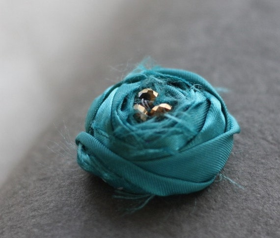 Fabric Flower PDF Pattern, Fabric Flower Pattern, Fabric Flower Tutorial, Sewing Tutorial, Sewing Pattern, Rolled Rose, Gift for Her