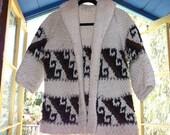 RESERVED vintage handmade nordic sweater