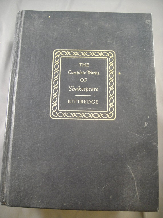 Shakespeare - The Complete Works Players Illustrated Edition Kittdredge 1958