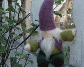 Forest Steward Felted Gnome
