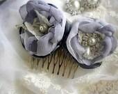 Romantic flower hair comb vintage style  wedding hair ACCESSORIES,