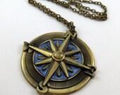 Cardinal Compass Necklace