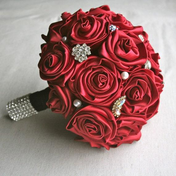 Rose Vintage Jewelry Bouquet - Custom