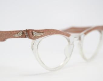 vintage Cat eye  glasses Marine