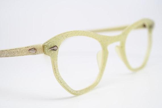Sparkilng cat eye glasses vintage cateye frames NOS
