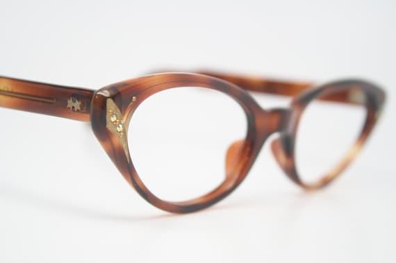 rhinestone vintage cat eye glasses retro