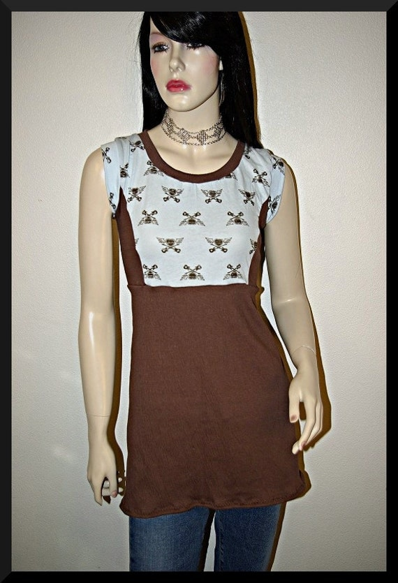 S/M Guitar Crossbones Dress FREE SHIPPING