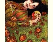 """Snow White 8x10"""" Print"""