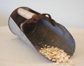 RESERVED Rustic Antique Grain Scoop