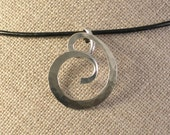 Double Spiral Pendant