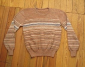women's vintage sweater.