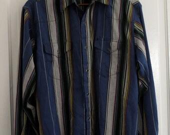 mens vintage Wrangler western shirt