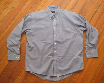 mens vintage Gant pinpoint oxford shirt