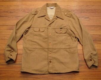 mens vintage wrangler ranch jacket