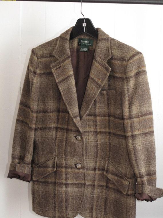 Knit Ruched Sleeve Boyfriend Blazer.