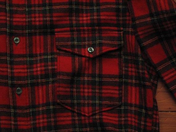 pendleton wool tartan plaid shirt