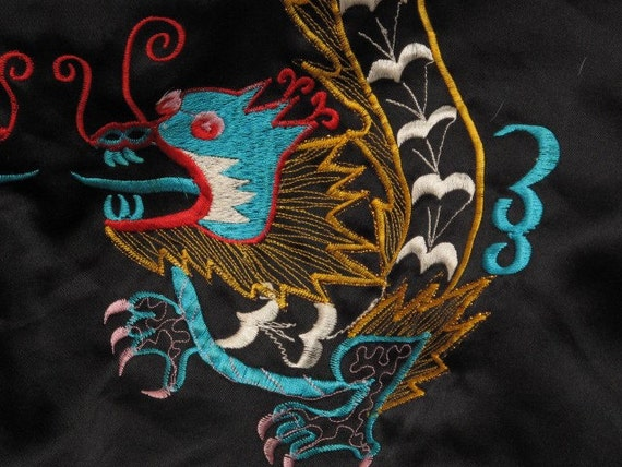 vintage souvenir jacket from south east asia