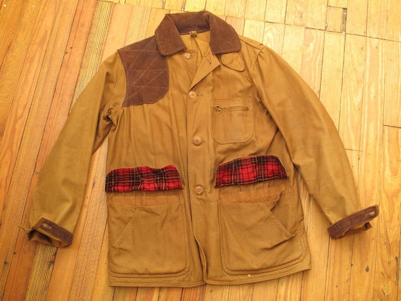Sale 50s Duck Cloth Upland Hunting Jacket