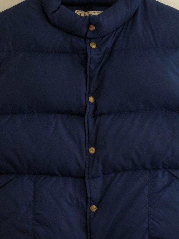 Mens Vintage Ll Bean Goose Down Vest