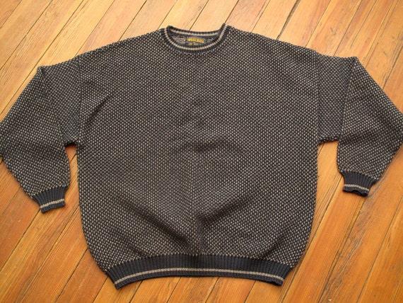woolrich norwegian knit style sweater