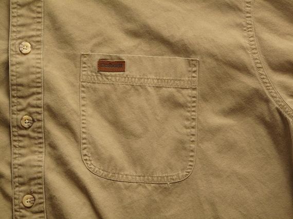 mens carhartt khaki work shirt