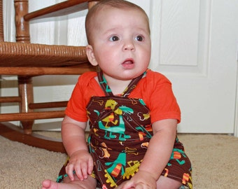 Boy's Knot Romper children's clothing sewing pattern PDF tutorial COMBO PACK boys and girls