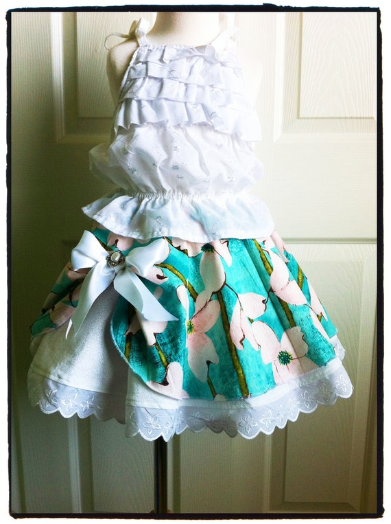 Girl's Twirl Skirt sewing PDF pattern tutorial for kids children and babies INSTANT DOWNLOAD