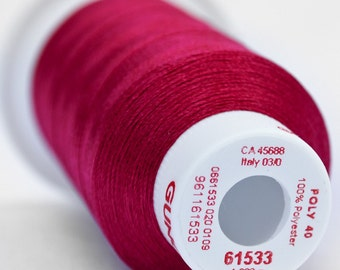 Polyester 40 Embroidery Thread | 61533 Magenta Pink | Light Rose
