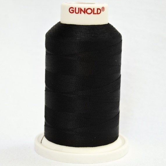 Sulky Rayon 40 Embroidery Thread | 1005 Black
