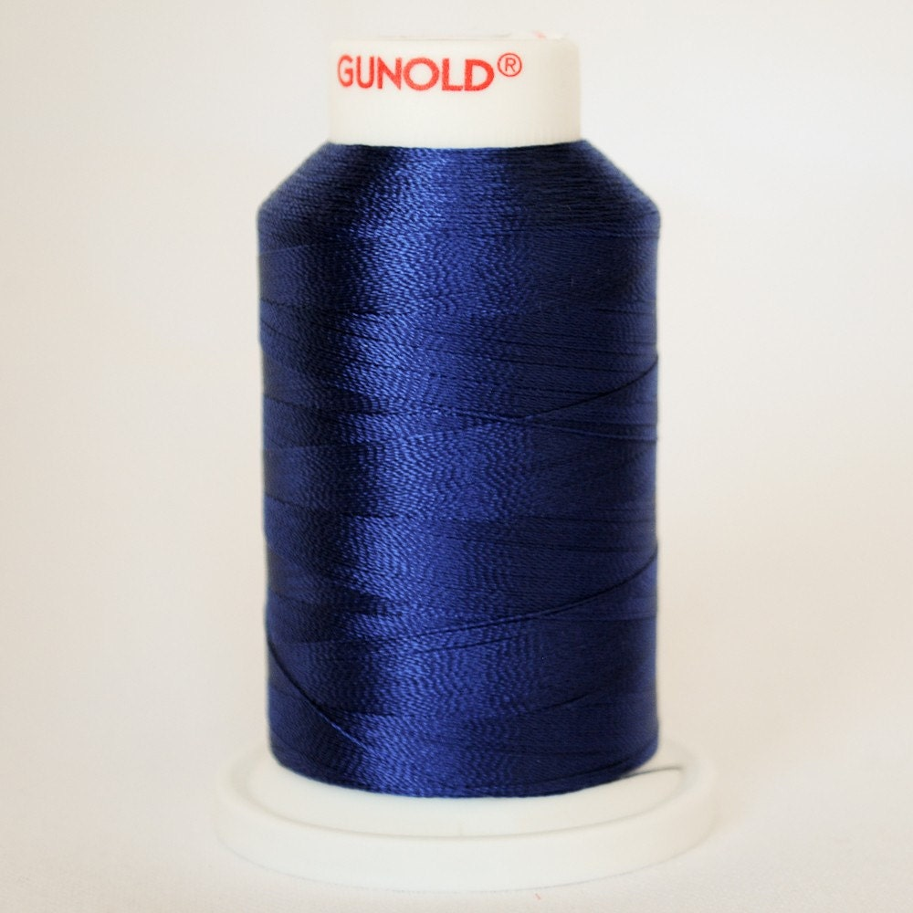 machine embroidery thread sulky rayon 1042 bright navy