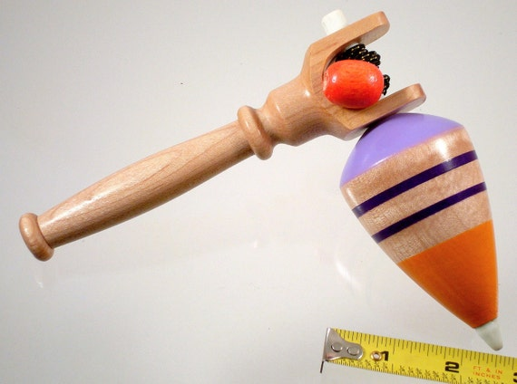 Spin top No. 53a, Spinning top with handle. Free shipping to US & Canada.