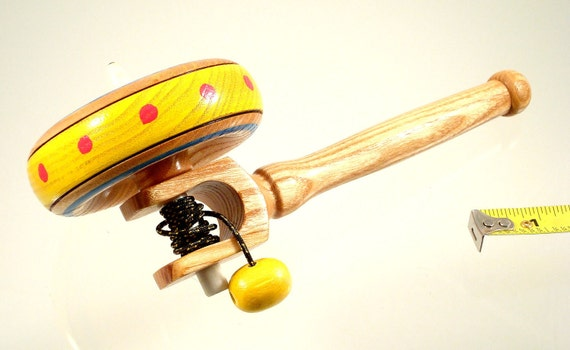 Spin top No. 96a, Spinning top with handle. Free shipping to US & Canada.
