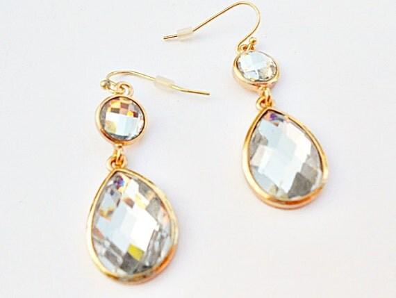 Diamonds Dangle Earrings