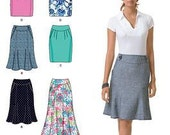 Simplicity Skirt Pattern 2451 Easy to Sew Plus Sizes 12-20 US