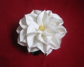 PDF Tutorial Fabric Flower Dahlia (removable design)