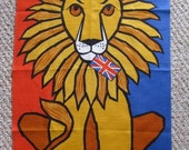 Ulster Lion with the Union Jack Tea Towel