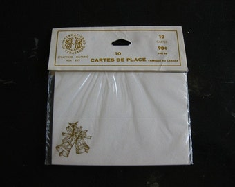 Golden Bell Place Cards