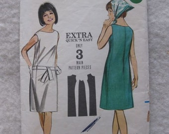 Butterick Extra Quick 'n Easy Dress Pattern 3576