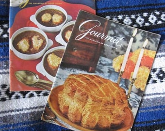 Gourmet: The Magazine of Good Living from January and February of 1965