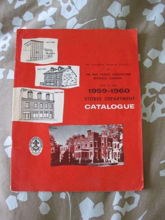 Boy Scouts Association Stores Department Catalogue 1959-1960