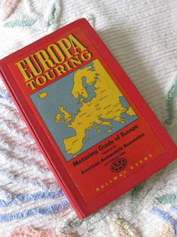 Europa Travelling Motoring Guide of Europe